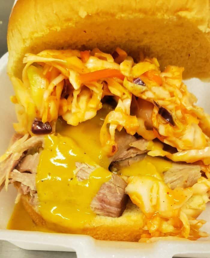 Pull Pork sandwich